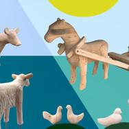 Dyr i tre til Kristiansand Museum