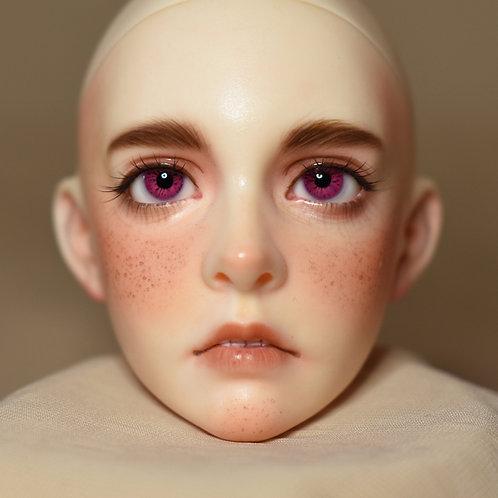 """Doll eyes """"Fuchsia"""" [12mm (6)]"""