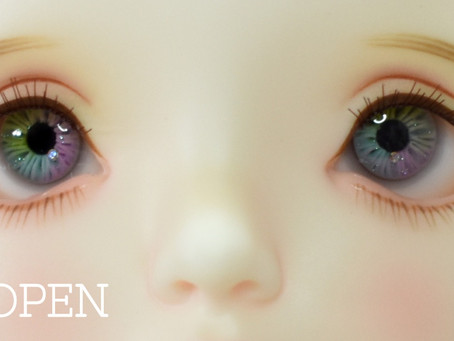 RESIN EYE Pre Order OPEN