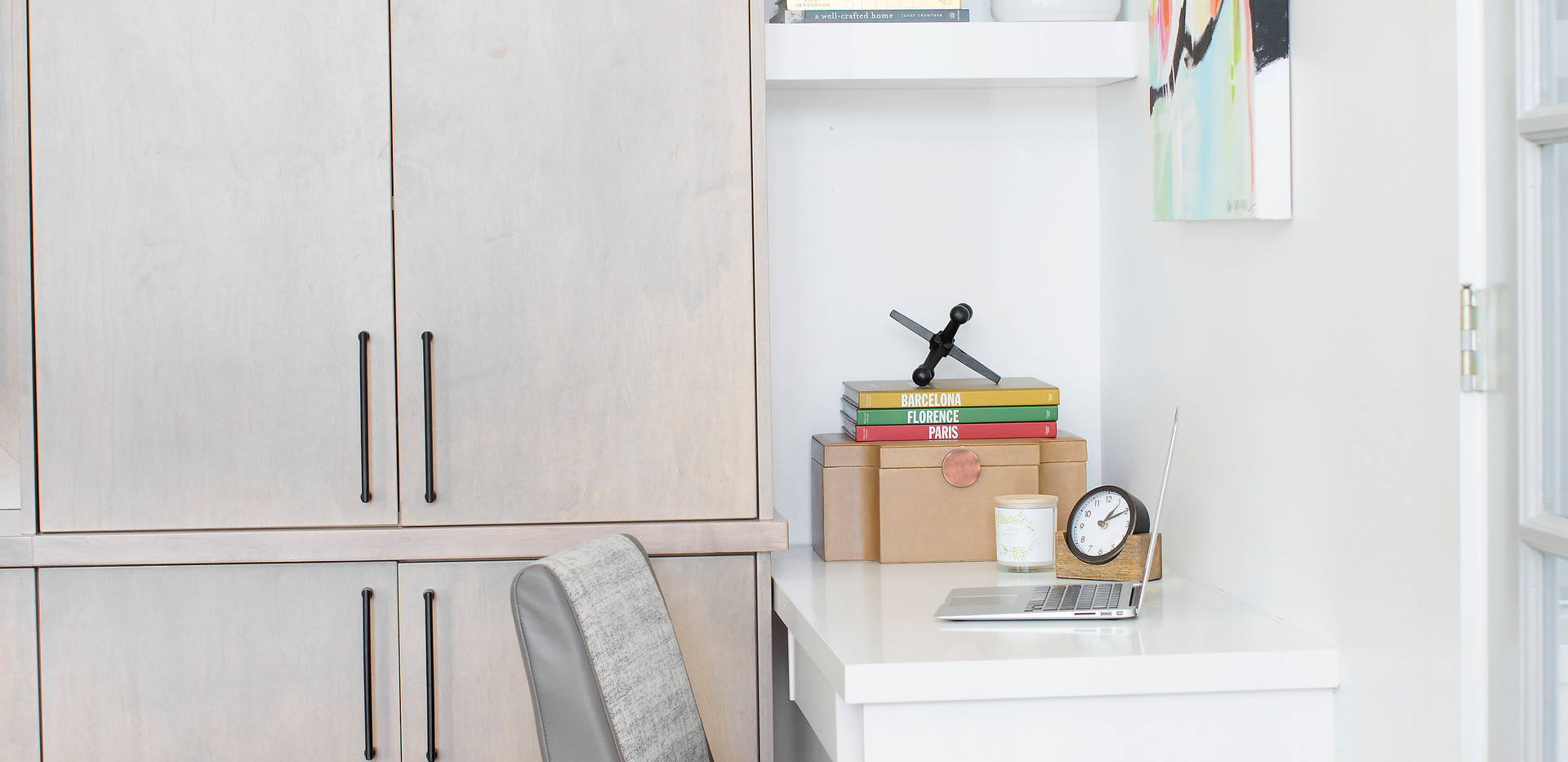 Custom Desk Area