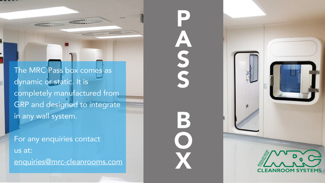 Pass Boxes | Important add-on to your cleanroom