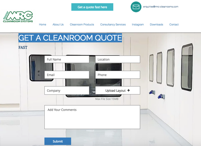 Request for Quote | Your Cleanroom Experts