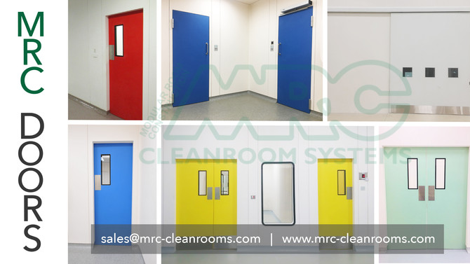 MRC Doors | Choose the Right Door - Hygienic and Industrial Areas