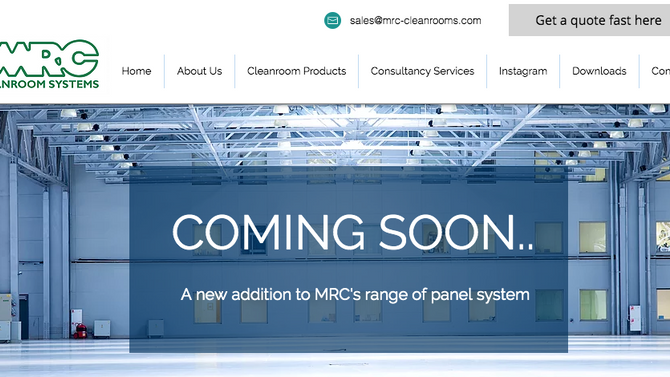 A new addition to the MRC range is coming really soon!