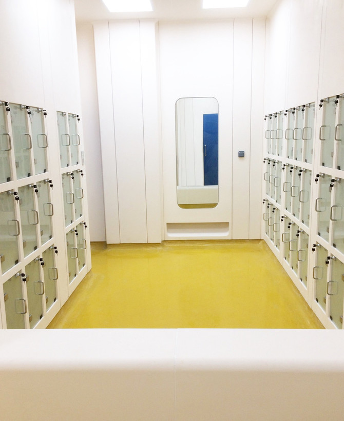 MRC Change Room | The best suit for controlled environment facilities