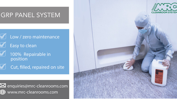 Easy to clean | Low Maintenance | MRC GRP Panel