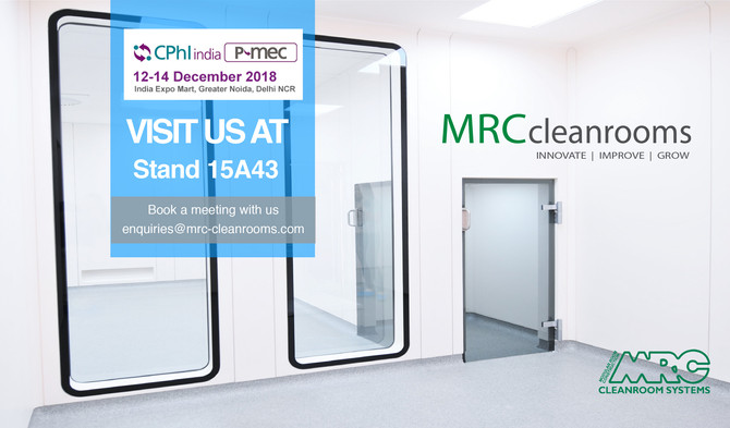 MRC   Stand 15A43 at CPHI India 2018