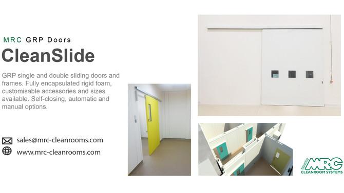 GRP Doors | Hygienic Sliding Doors
