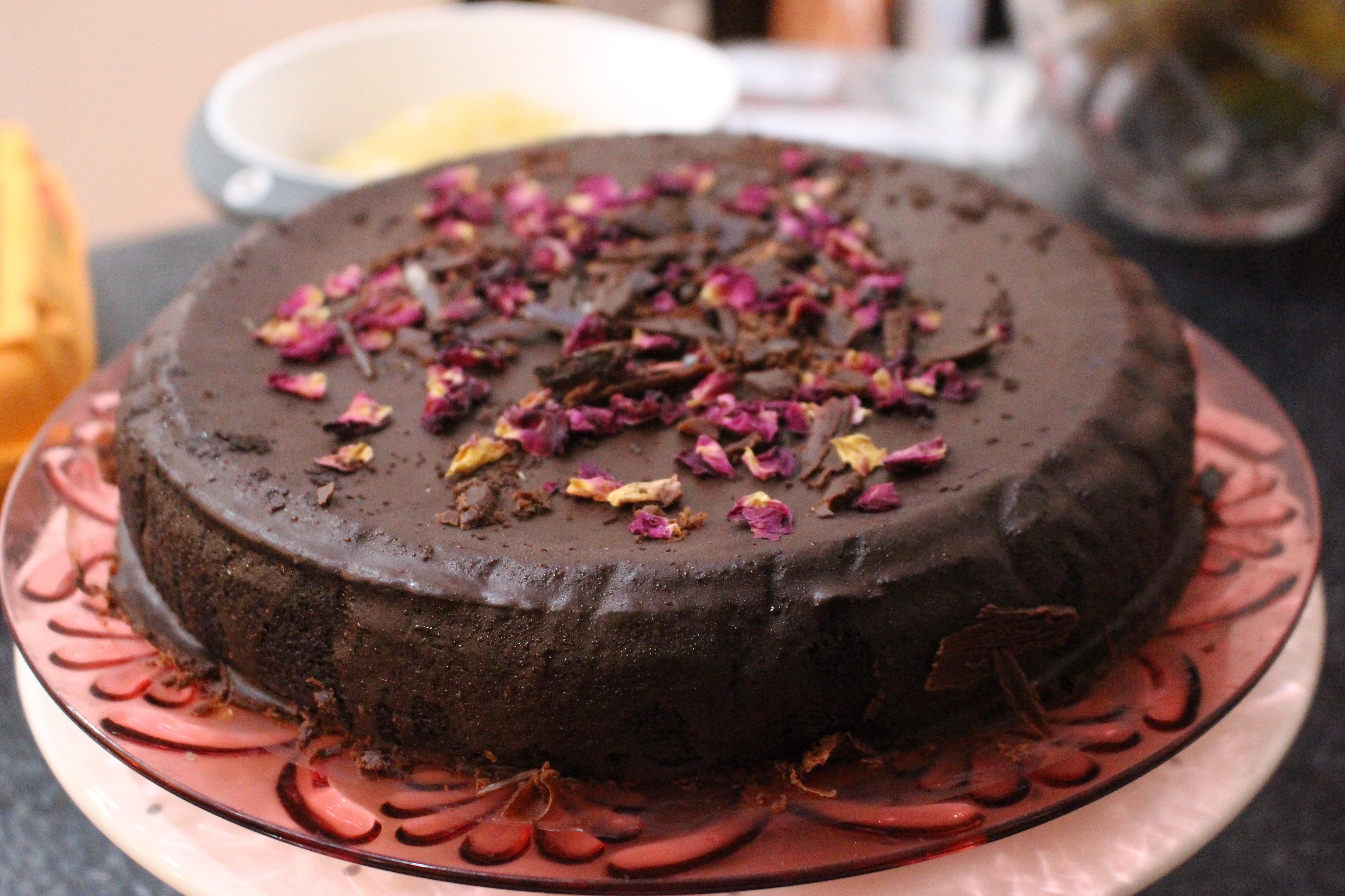 Blackbean, Date & Cacao Cake