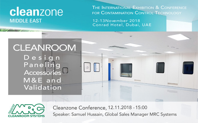 Cleanzone Middle East 2018