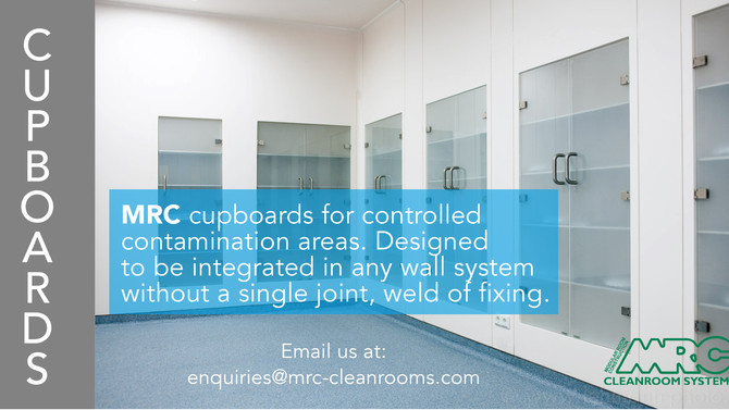 Integrated Cleanroom Cupboards
