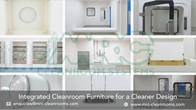 MRC Cleanroom Furniture | Designed for Performance and Reliability
