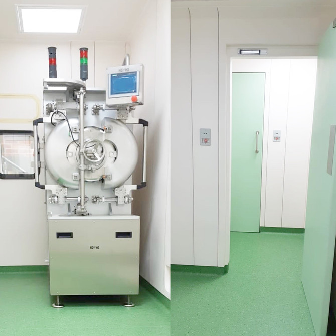3Biomat, Colombia | New cleanroom facility completed