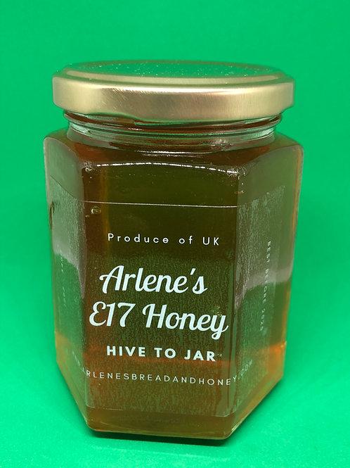 340g Jar of Raw E17 Honey