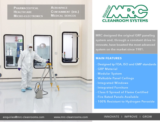 Cleanroom Design & Construction Partner for Controlled Environments