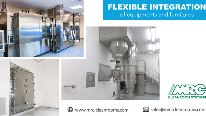 MRC Wall Panel System | Flexible Integration of Equipments