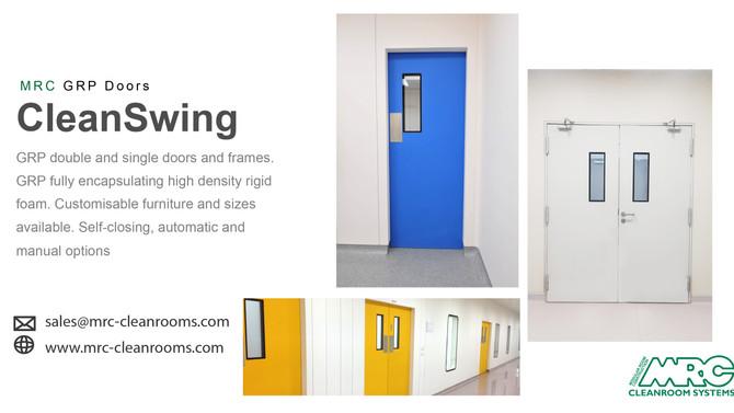 GRP Doors | Hygienic Swing Doors