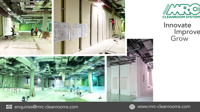 2000m2 Cleanroom Facility in Egypt | Under Construction