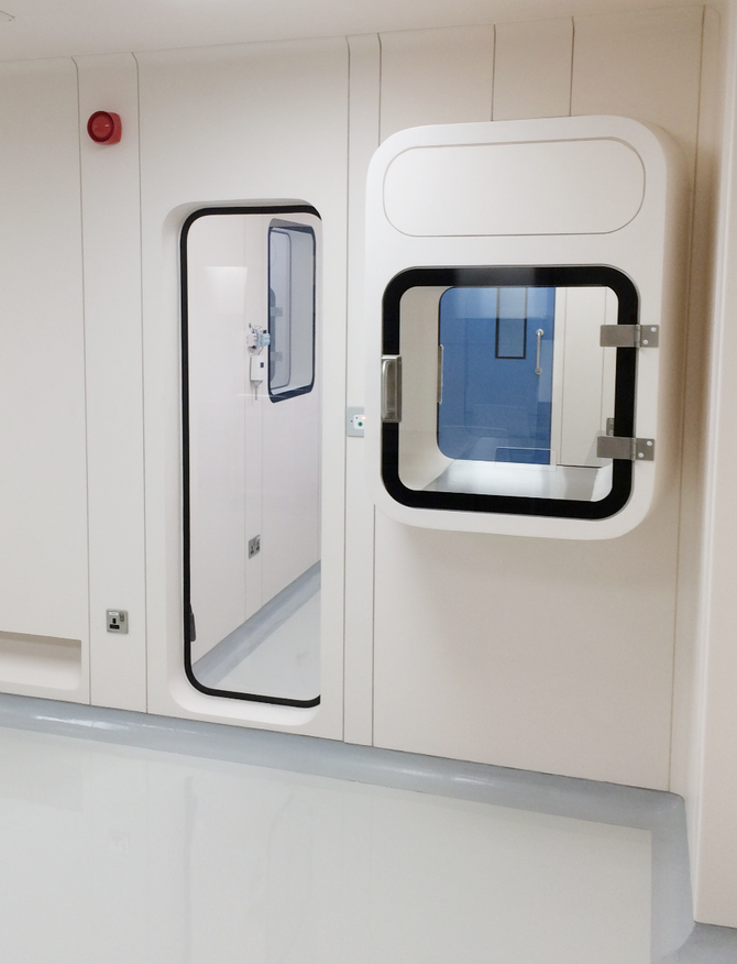MRC PASS BOX | An Important Add-On To Your Cleanroom
