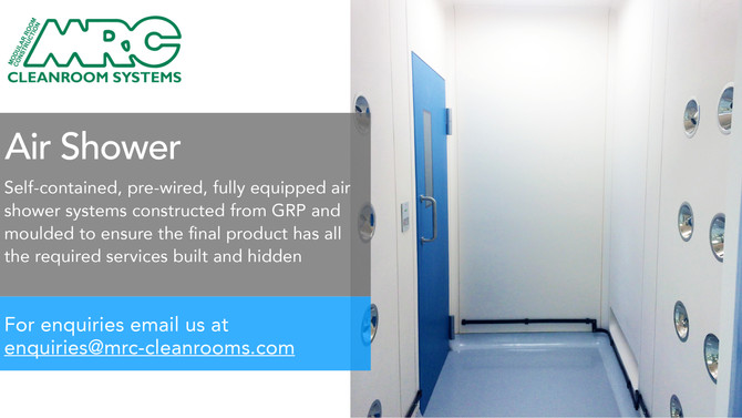 Cleanroom Air Shower | Designed for Performance and Reliability