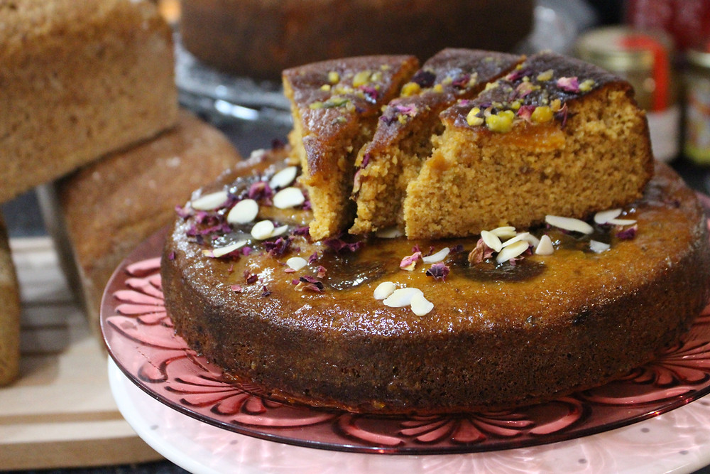 Apricot & Almond Cake