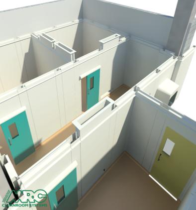 New Cleanroom Facility for Rehabilitation Hospital in Abu Dhabi, AE