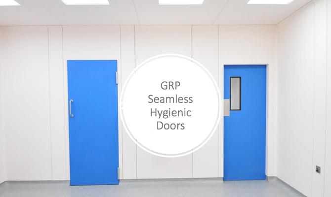 GRP HYGIENIC DOORS