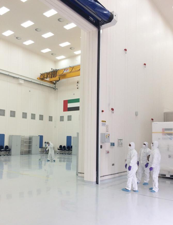Impressive 11.5m high GRP wall panels