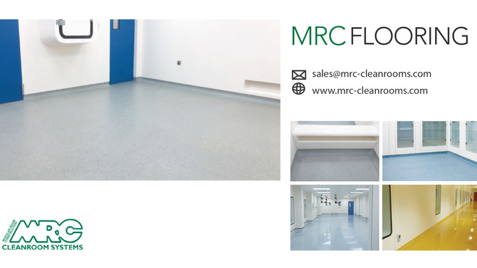 MRC Flooring Solutions | Suitable for Cleanroom and Industrial environments