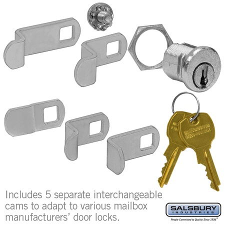 Mailbox - Accessory Lock Replacement Kit