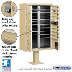 Mailbox - Medium Cluster Box Interior
