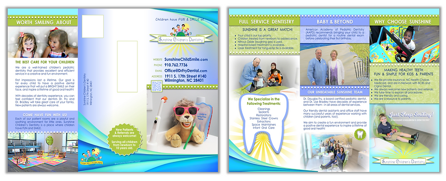 Brochure - Sunshine Children's Dentistry