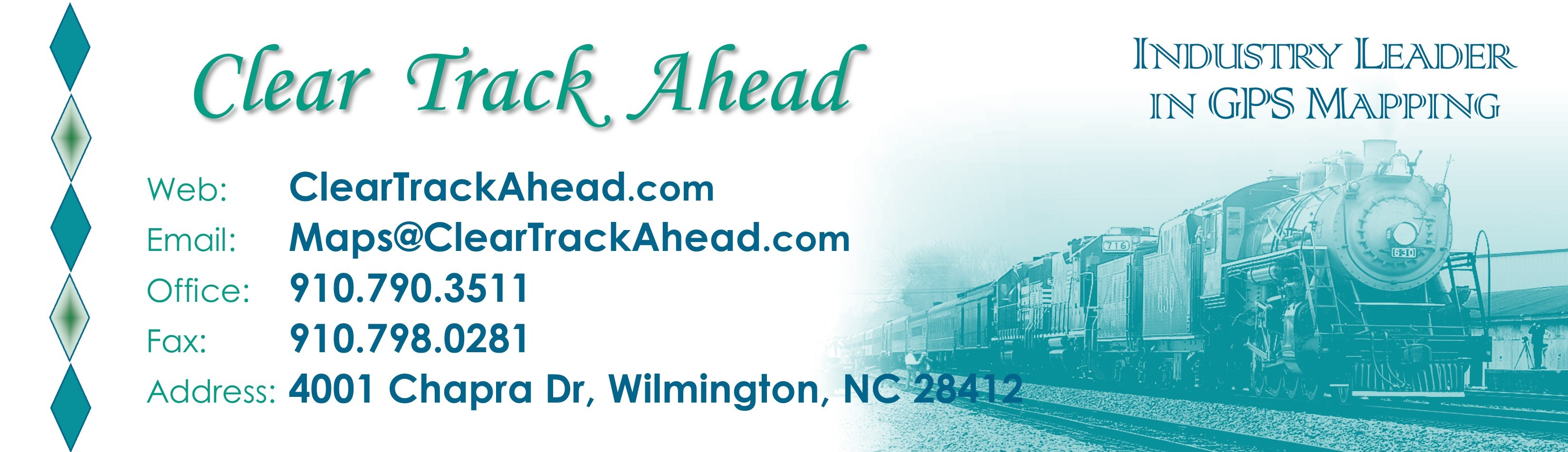 Email Signature Banner - Clear Track Ahead