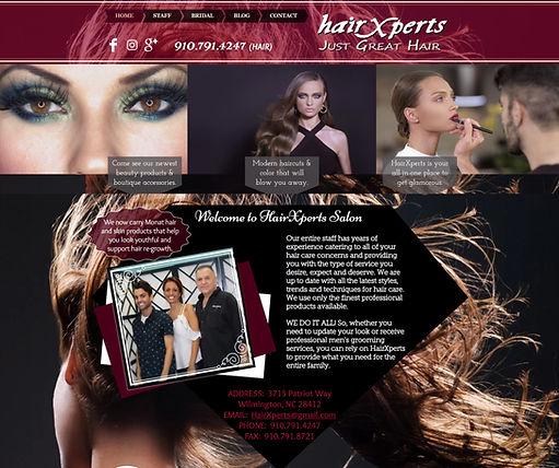 Web Design - HairXperts.com.jpg