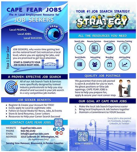 Rack Card - Cape Fear Jobs Job Seeker.jp