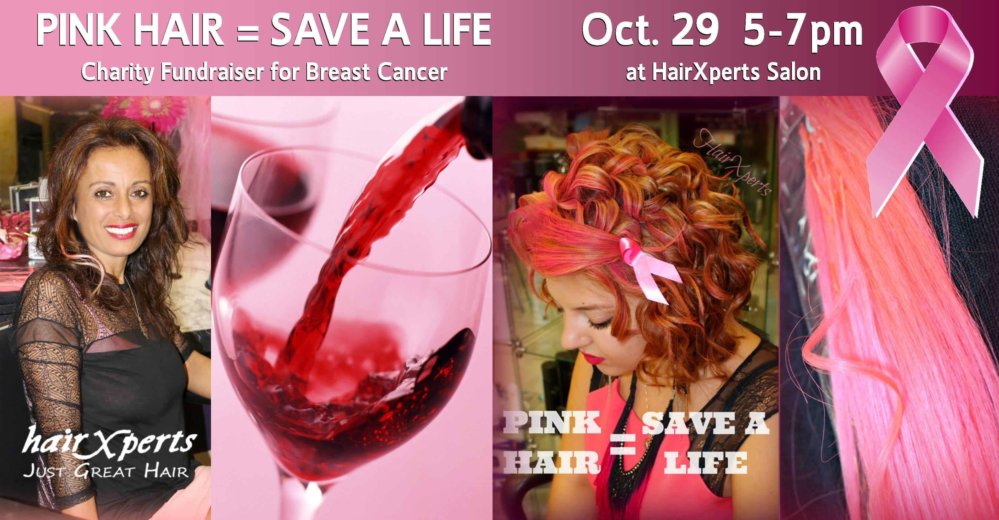 Pink Hair = Save a Life