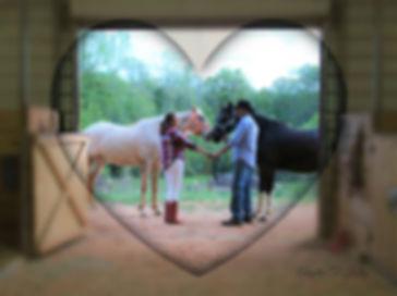 Engagement Portrait in Barn