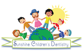Sunshine Dentistry Logo Ribbon Graphic L
