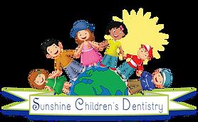 Sunshine Dentistry Logo Ribbon Graphic L