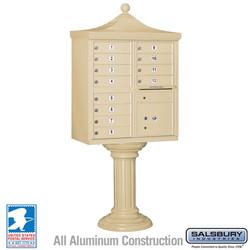 Mailbox - Medium Cluster Box Decorative