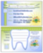 Biz Card - Sunshine Children's Dentistry