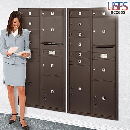 Mailbox - Horizontal Cluster Box