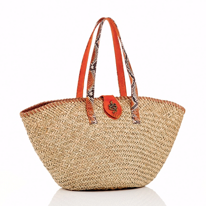 CLARIS VIROT PANIER ZOE ORANGE