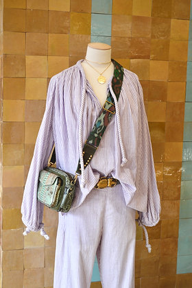 LAURENCE BRAS BLOUSE LILAC