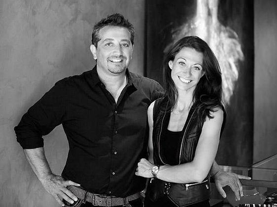 Isabelle & Jean-Pascal, créateurs de Trinity à Saint-Tropez