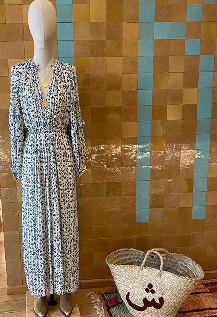 Robe longue spring dress Isabel Marant