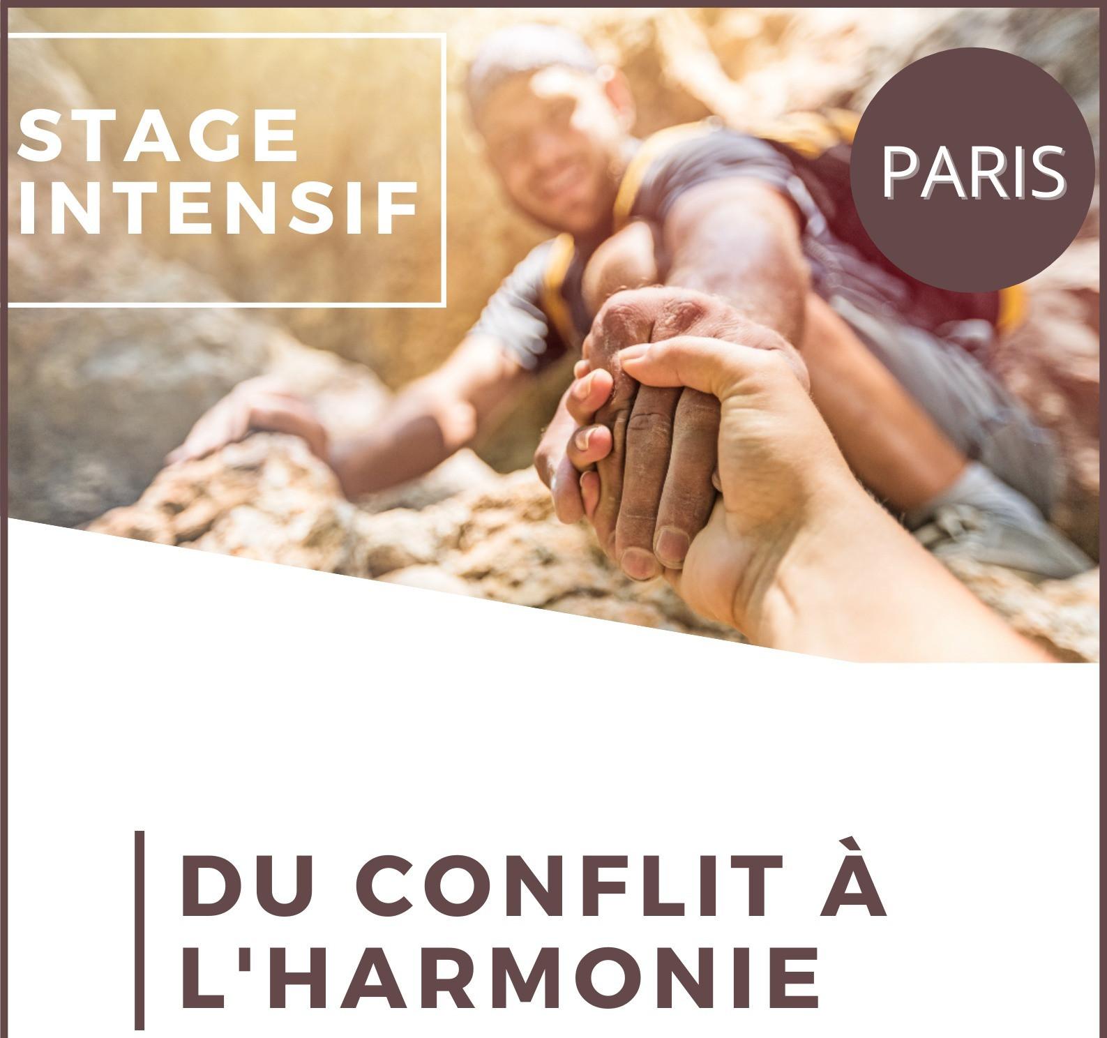 Du Conflit à l'Harmonie PARIS