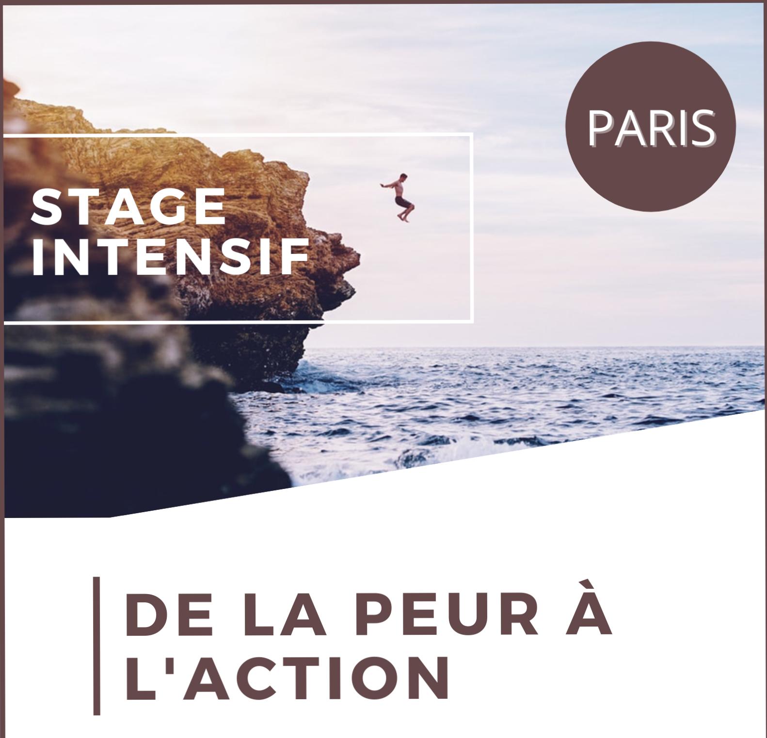 De la Peur à l'Action PARIS
