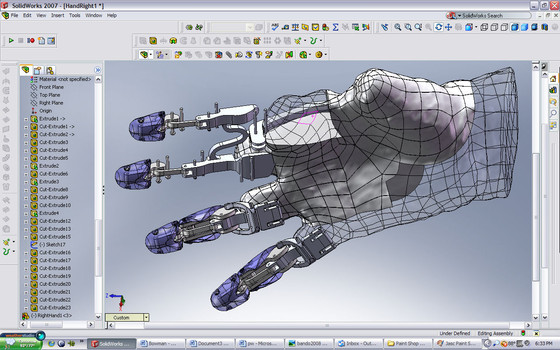 Um projeto mecânico: Desenho assistido por computador - Parte 5