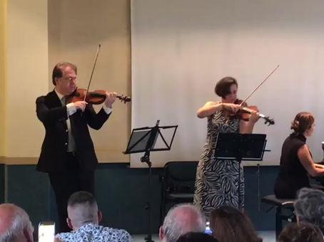 Extrait du concert des Violons de l'Espoir à Crémone en Italie